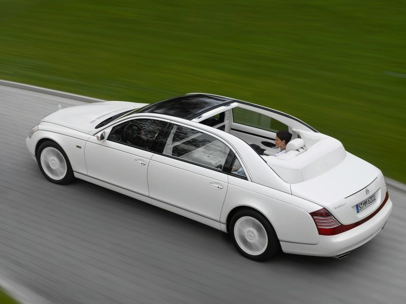 Maybach Landaulet: Green-Lighted for Production | Maybach, Cars and ...