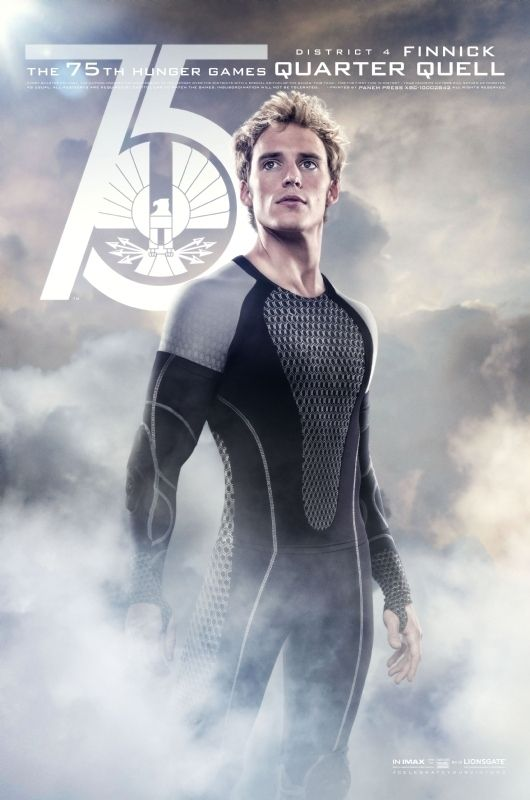 Finnick District 4 Hunger Games Poster Hunger Games Finnick Hunger Games Catching Fire