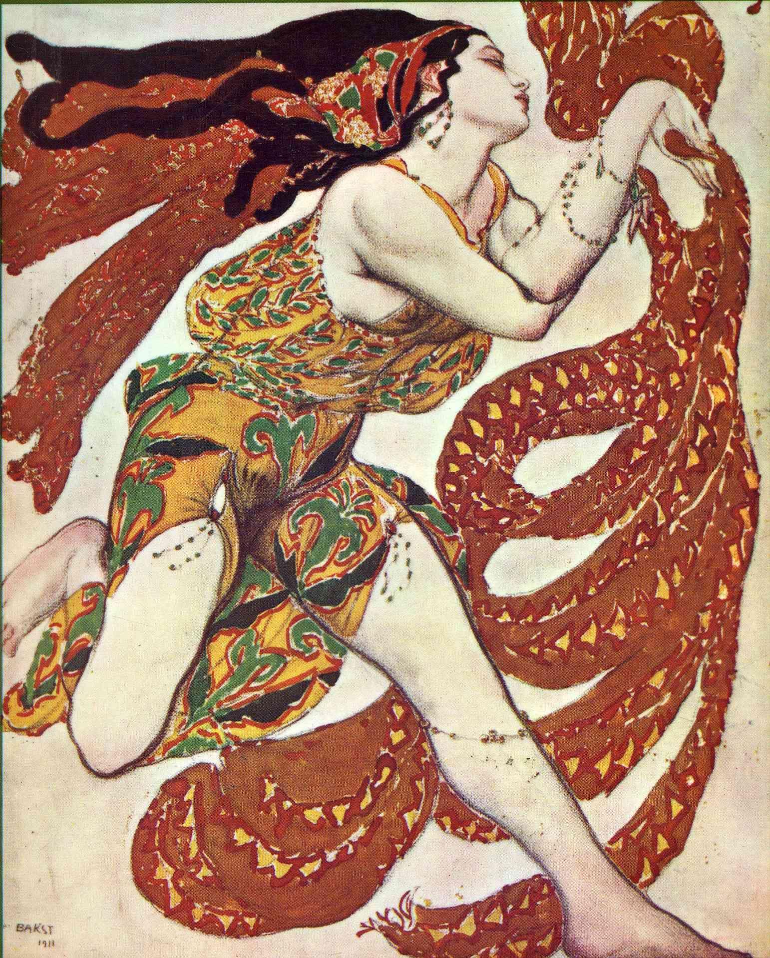 Leon Bakst Russian Nouveau 7 ART