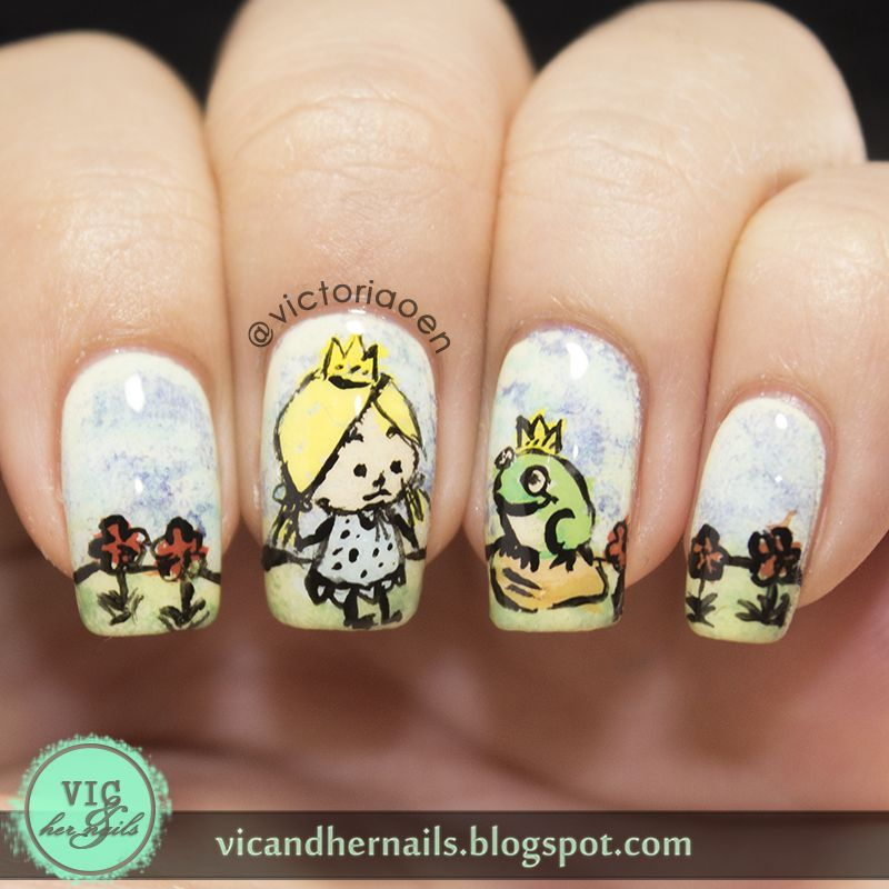 Vic and Her Nails: Digital Dozen Does Fairytales - Day 4: The Frog ...