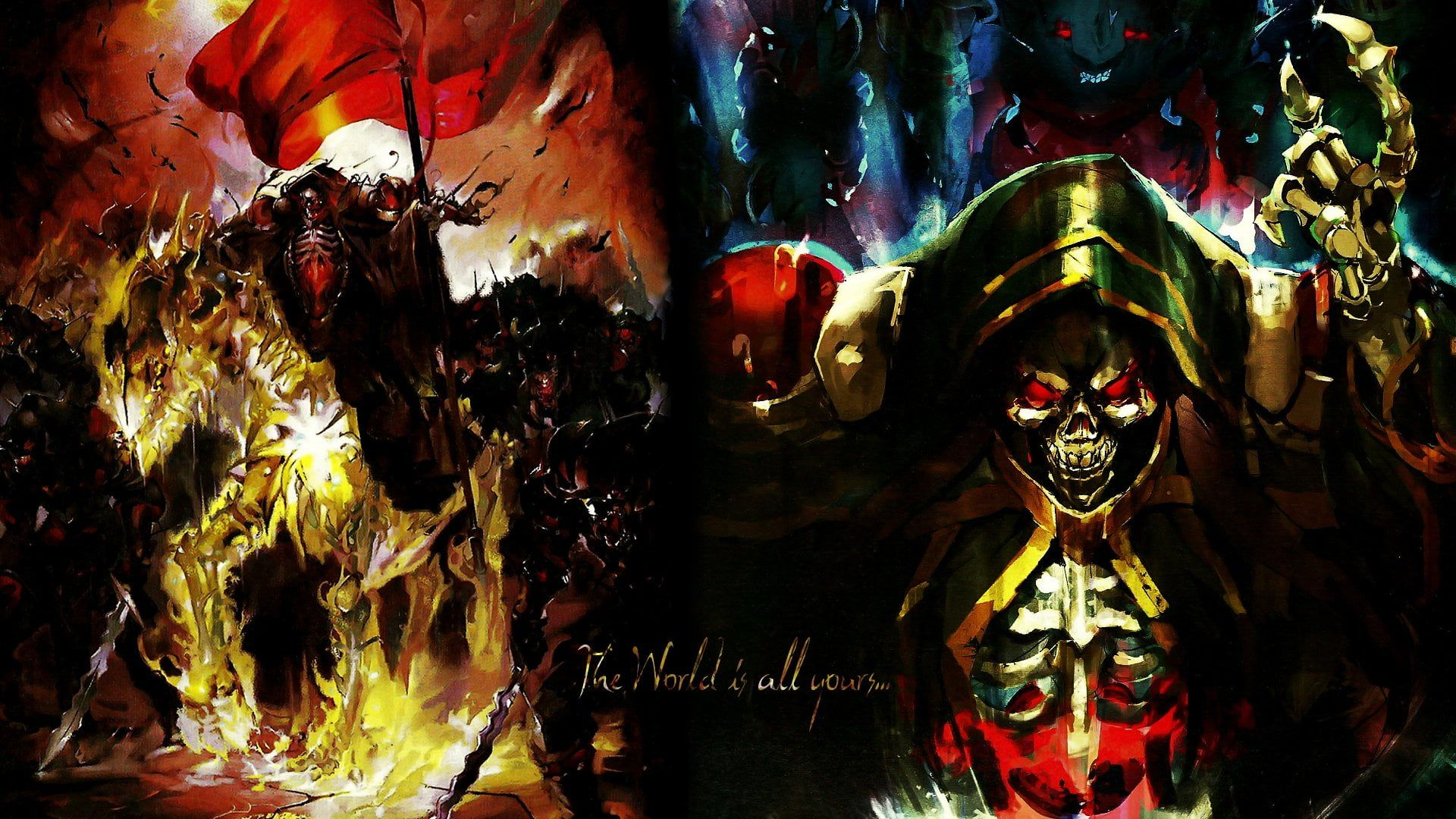 Anime Overlord Ainz Ooal Gown Overlord Anime 1080p Wallpaper Hdwallpaper Desktop In 2020 Anime Free Anime Anime Wallpaper