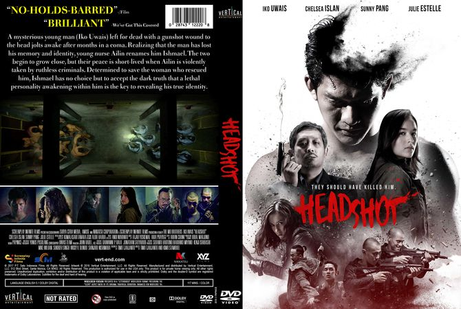 Headshot DVD Custom Cover Dvd cover design, Custom dvd