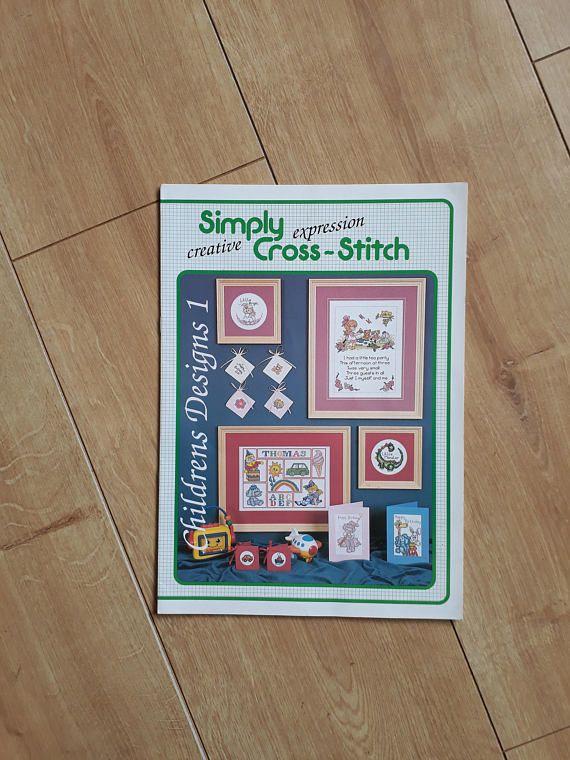 Simply Cross-Stitch Childrens Designs 1 Childrens Cross