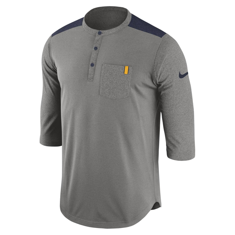 Nike Dri-FIT WVU Henley Top