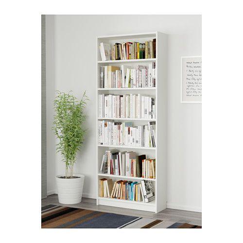 Billy Bibliotheque Blanc 80x28x202cm Magasinez Sur Fr Ikea Ca Ikea White Bookcase Hemnes Bookcase Bookcase
