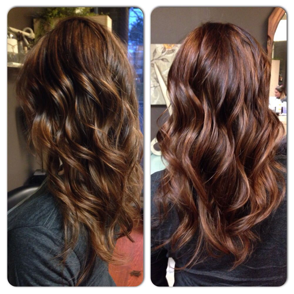 New spring hair color by Jennifer Borchers Salon Lofts Worthington