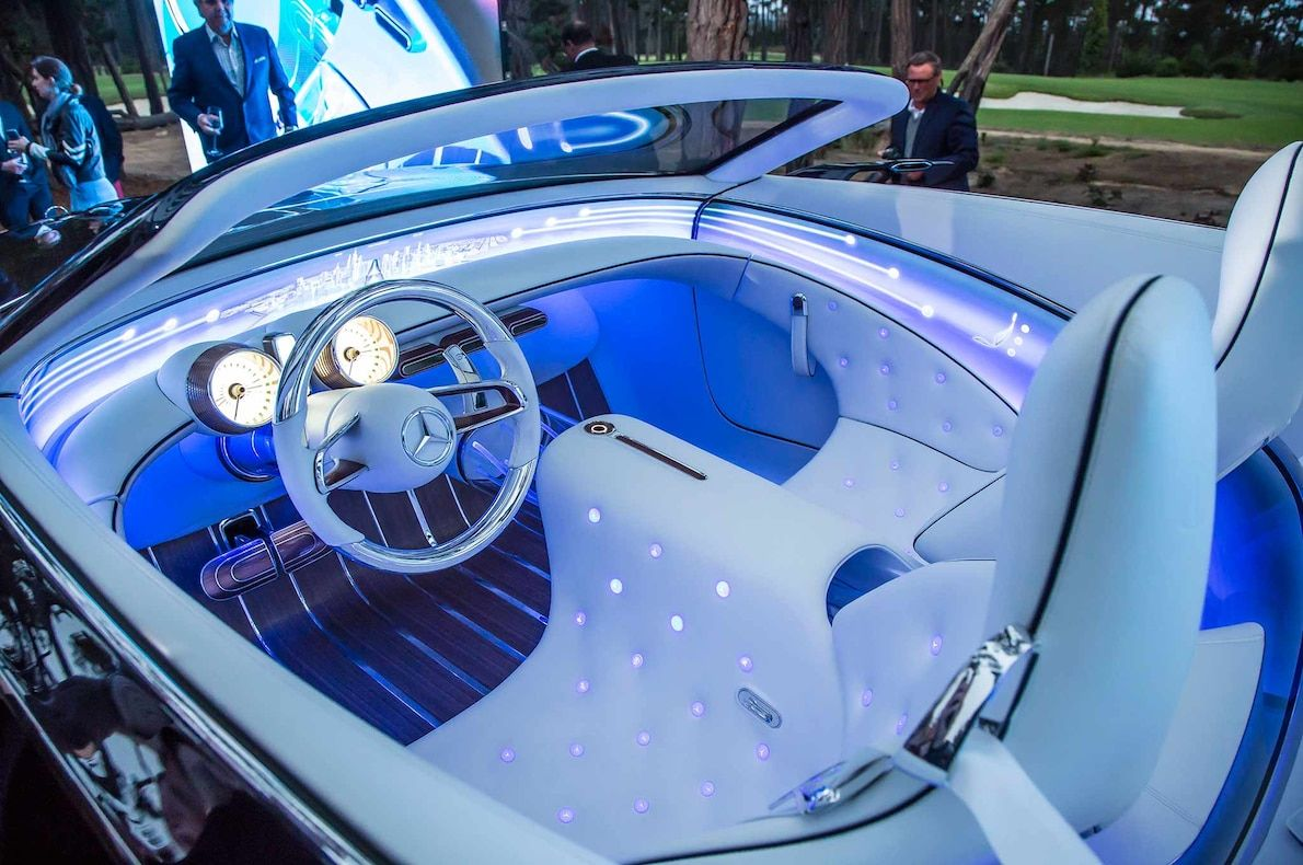 Vision Mercedes Maybach 6 Cabriolet First Look With Images