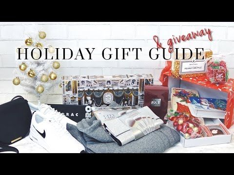 Holiday Gift Guide & Giveaway 2016! | Gifts For Her - Get this look: http://lmz.co/lzsohu