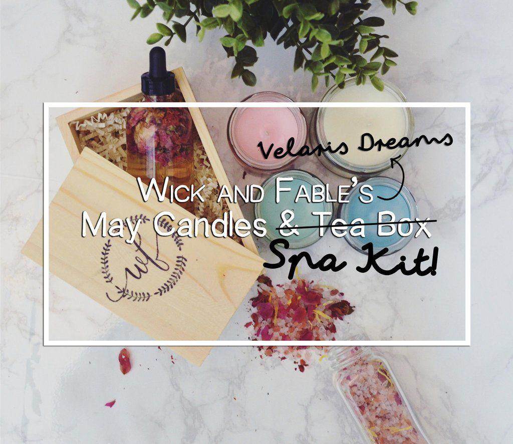 Velaris Dreams - May Limited Edition Spa Kit