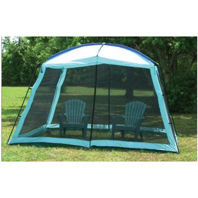 Camping Screen Room Full Enclosure Canopy Shade Gazebo With Dome Top Outdoor X 9
