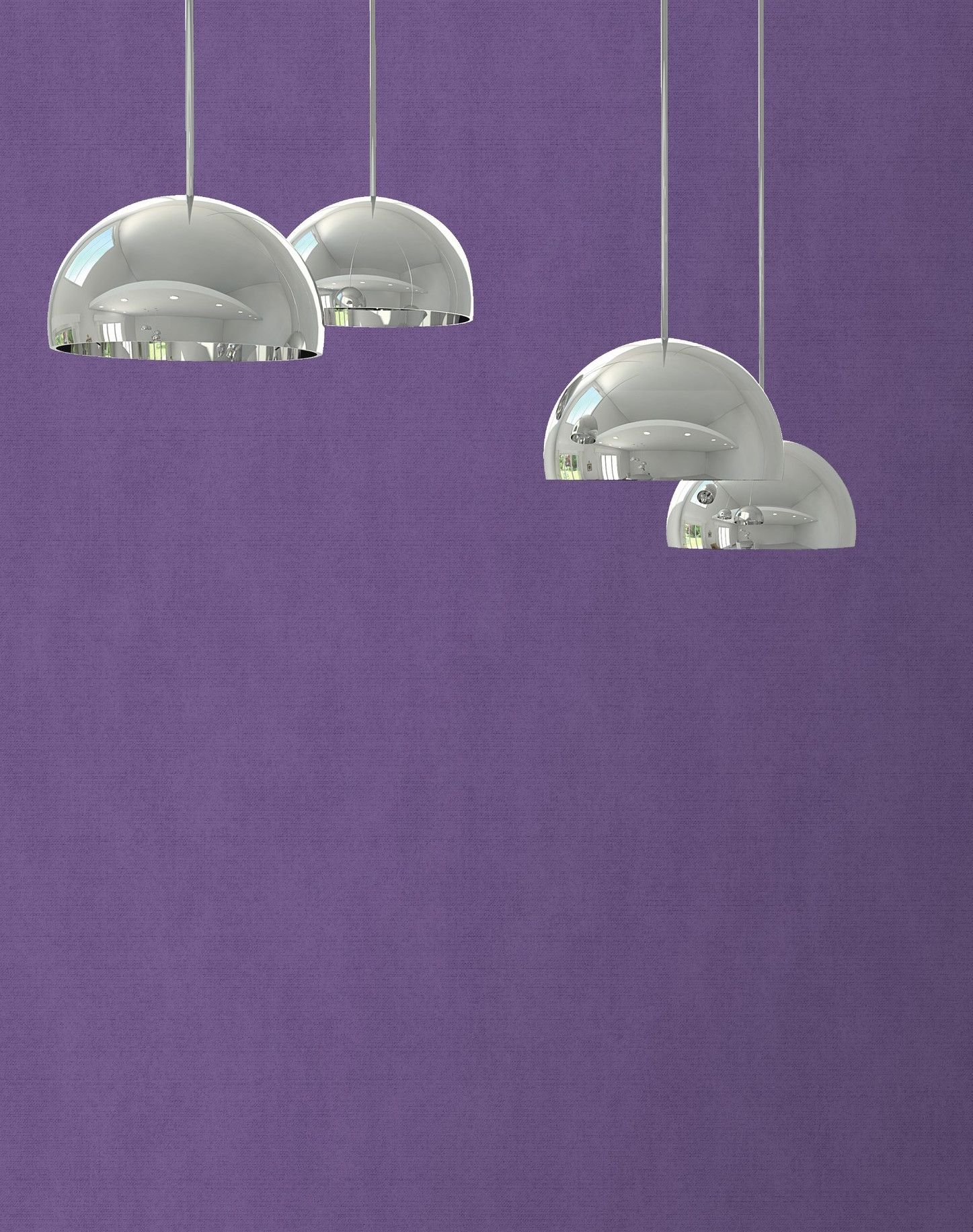 Stylish purple wallpapers for your home Purple walls