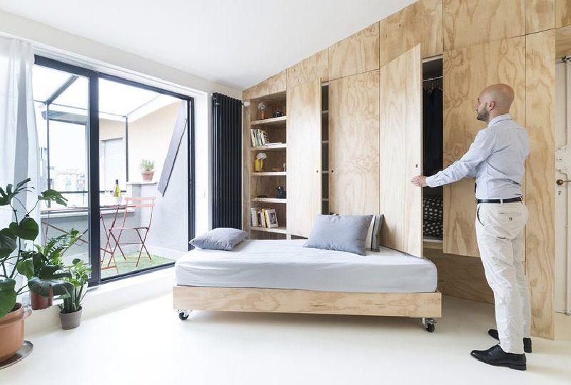 Batipin Flat un monolocale trasformista di 28 mq Design