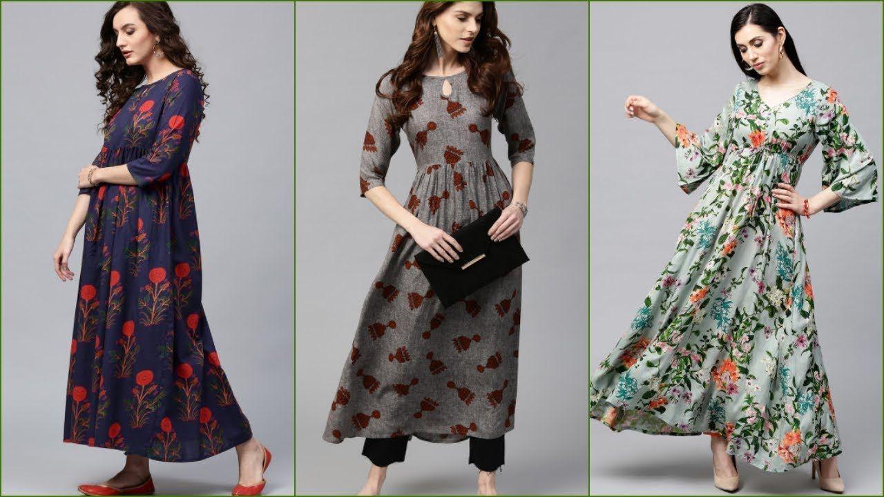 20 New Fashion Kurti Designs 2018 2019 Latest Kurti Designs Long K New Kurti Designs Kurti Designs Latest Long Kurti Designs
