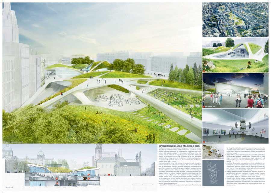 Botanic garden project model szukaj w google master for Garden design proposal