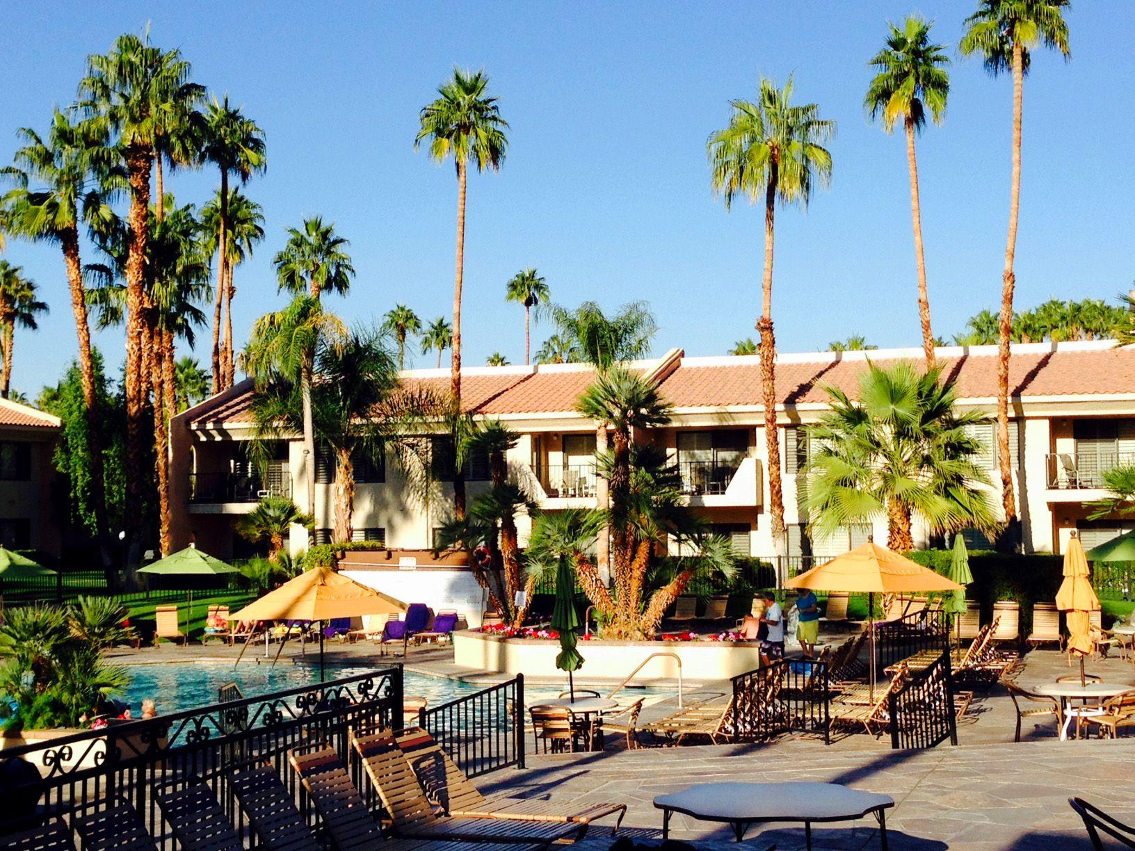 Our beautiful swimming pool here at Welk Resort Palm Springs ...