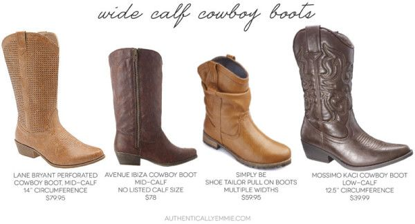Wide Cowgirl Boots - Cr Boot