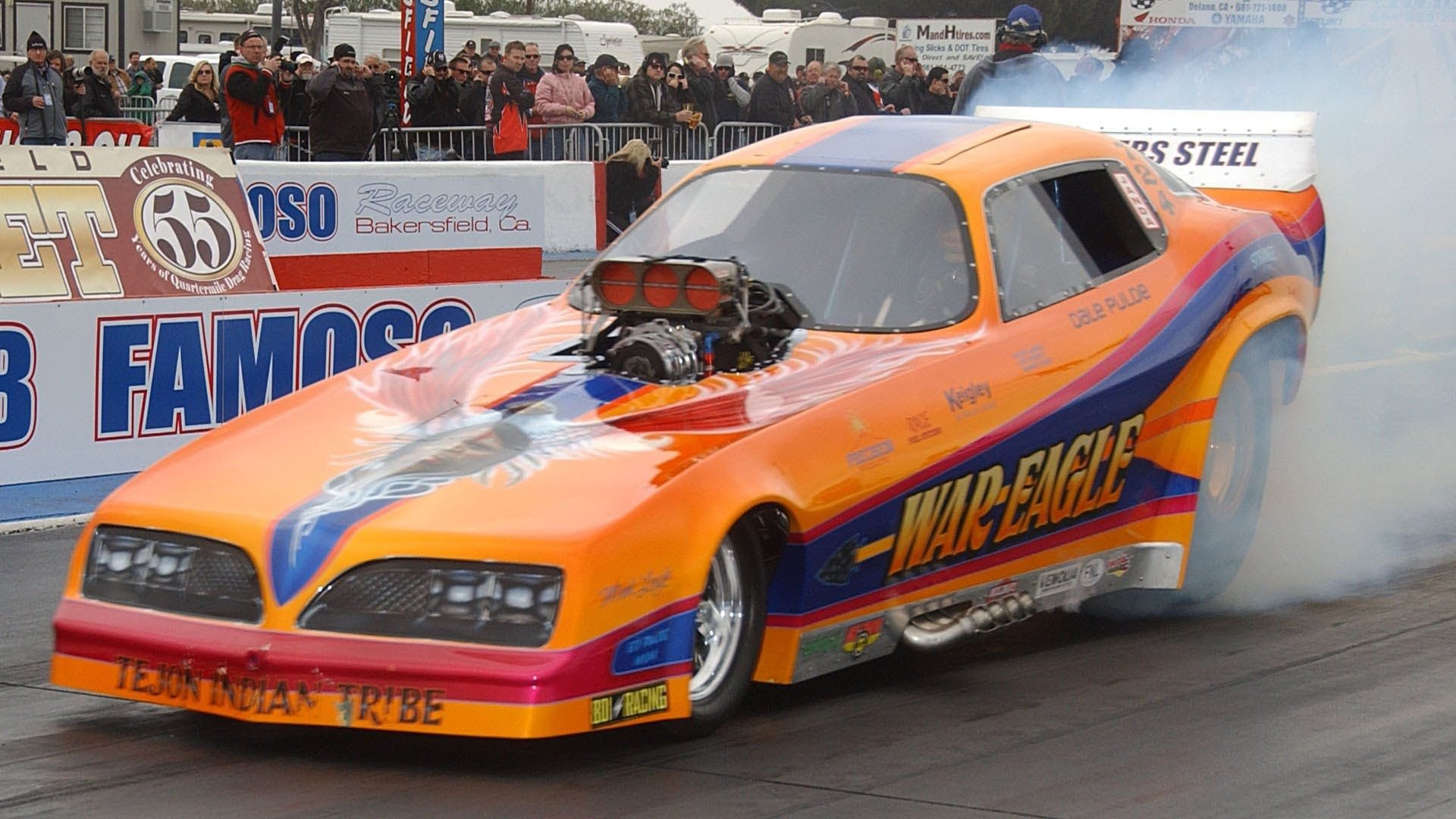 2013 March Meet Arend War Eagle Konno Nitro Funny Car Q1 Nostalgia ...