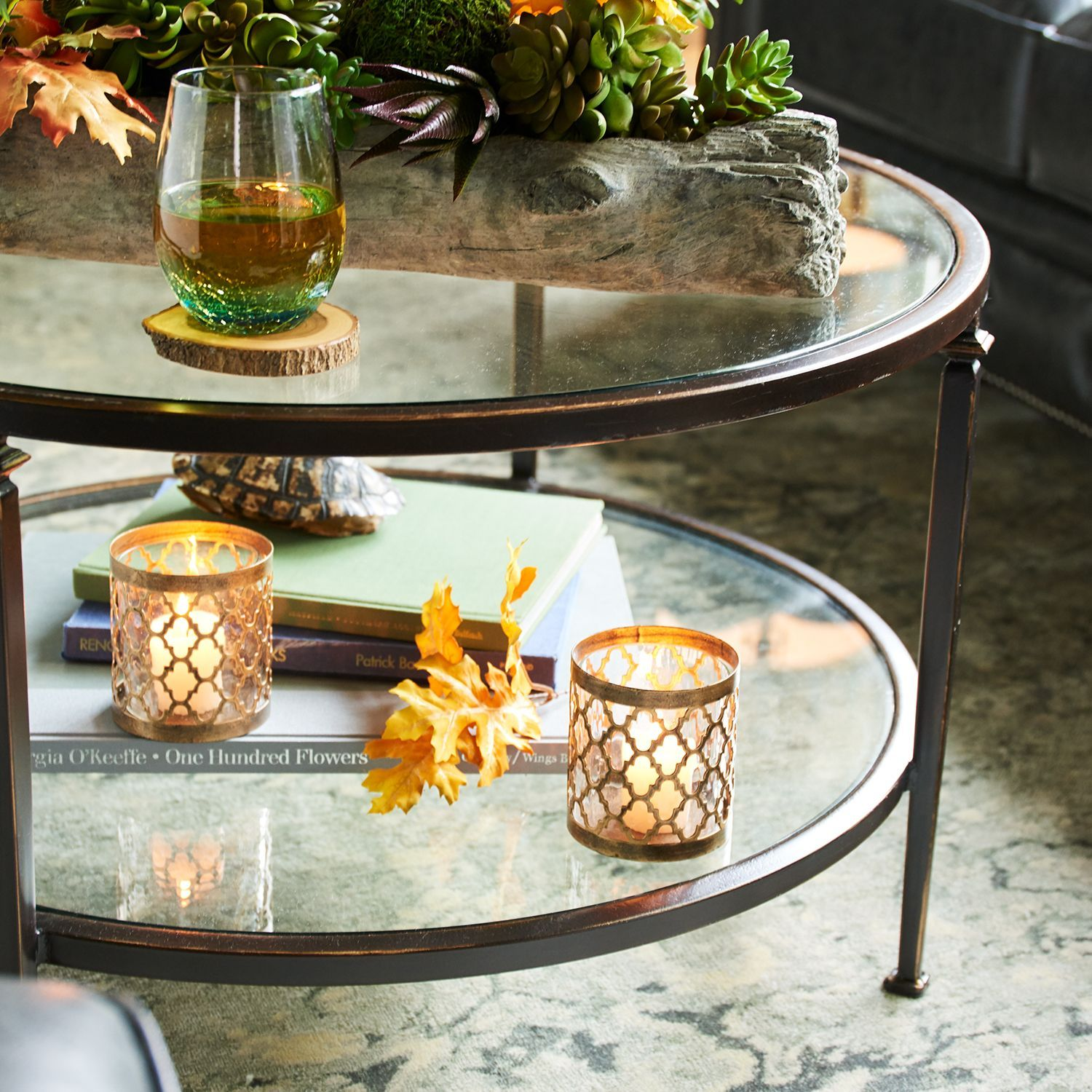 Lincoln Tempered Glass Top Round Coffee Table Pier 1 Imports Round Glass Coffee Table Glass Top Coffee Table Coffee Table [ 1500 x 1500 Pixel ]