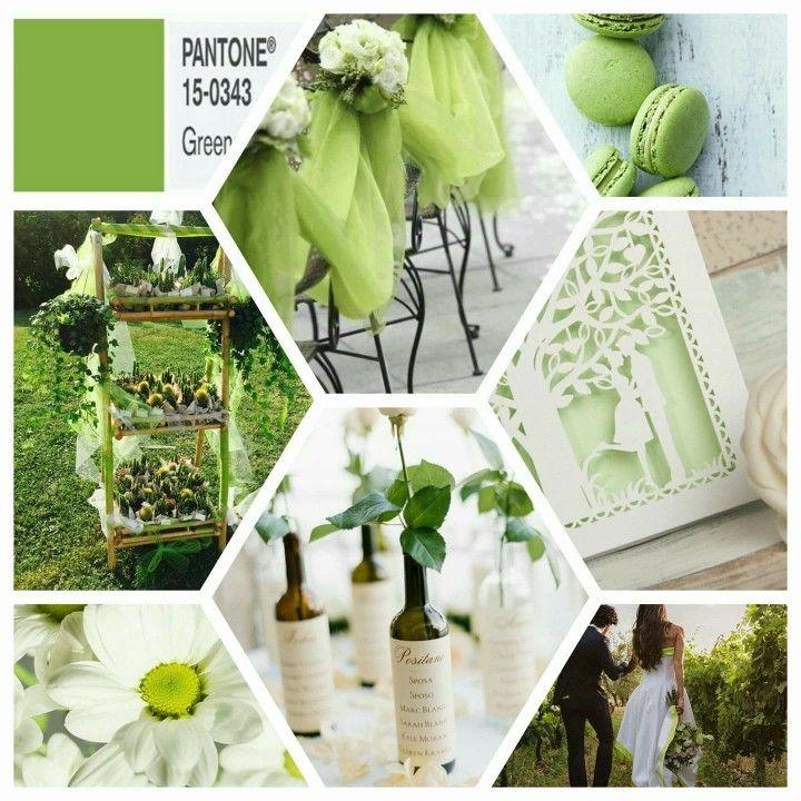 Il GREENERY, il colore dell'anno eletto da PANTONE...  #matrimonio #weddingplanner #sposa #greenery