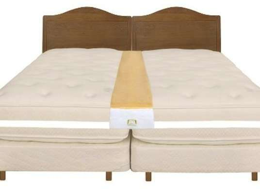 You Can Make Two Twin Beds Into A King Size Bed By Using Strap To Join Them Together
