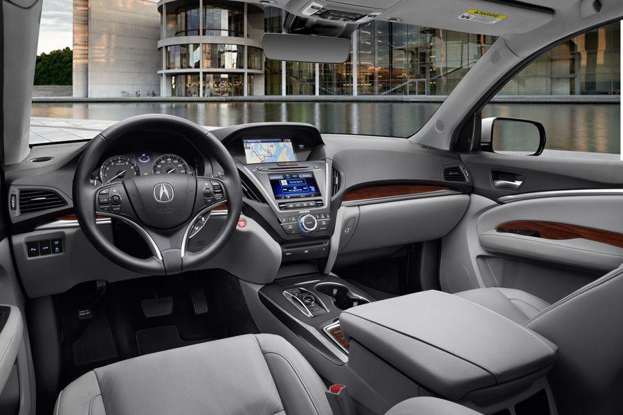 Greystone Interior Acura Mdx Luxury Suv Acura