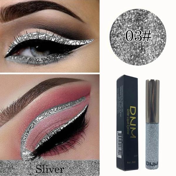 Tracing Glitter Eyeliner New Shining Eye Liners for Women #glittereyeliner