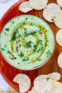 Avocado Greek Yogurt Dip