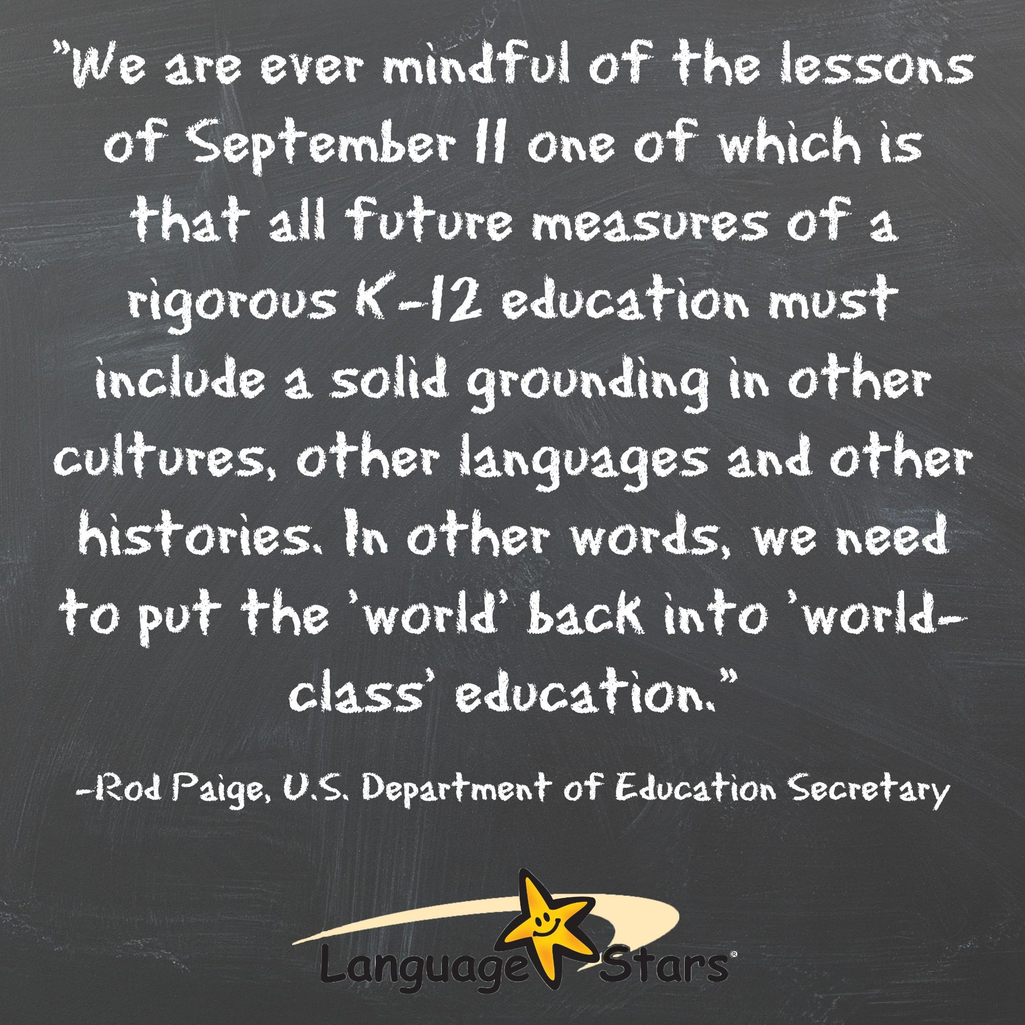 Inspirational foreign language quote, education, bilingual ...