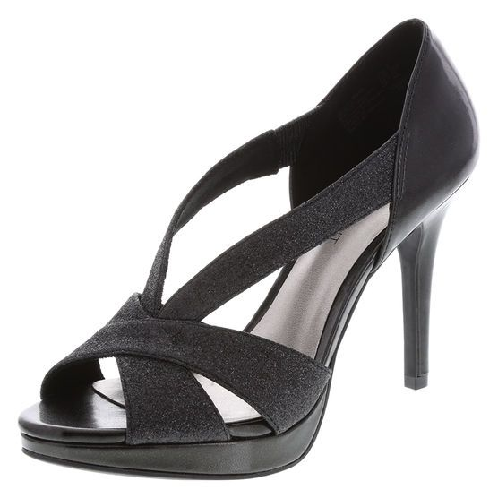 Just bought these, too! They are more glittery than they appear. Black and glittery, my favorite combination!