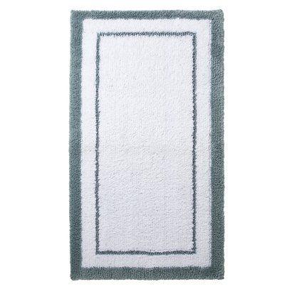 Second Bathroom Bathmat Fieldcrest Luxury Accent Bath Rug - Fieldcrest bathroom rugs for bathroom decorating ideas