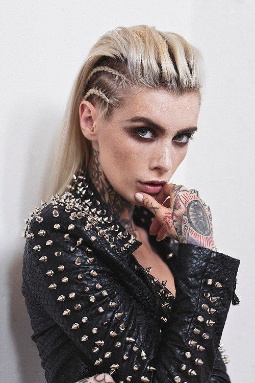 Pin By Lois On Punky Hairstyle Rock Hairstyles Rocker Hair Punk Hair
