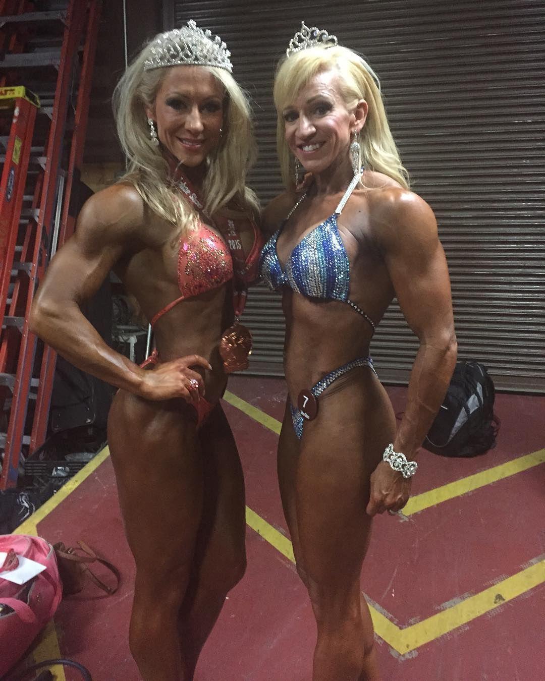 mature muscle women Female
