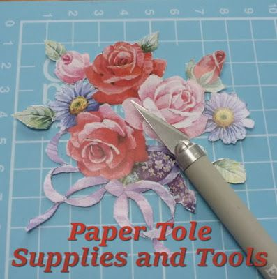 3d Decoupage Tutorial And Instructions With Photos Decoupage