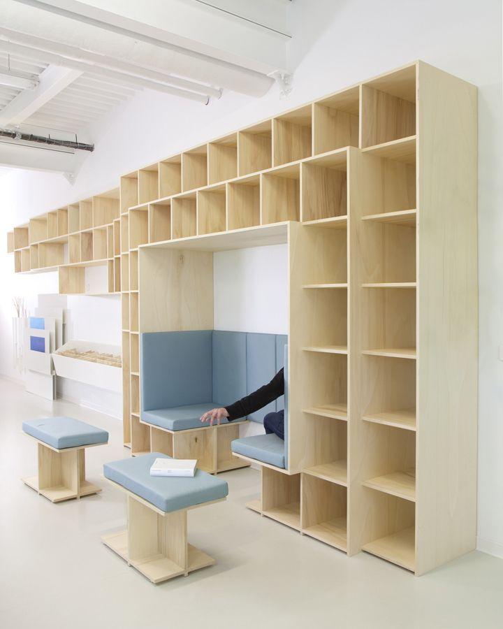 I2R development lab by Studio GGSV, Moret sur Loin France office clinic