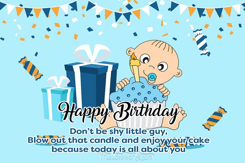 1st Birthday Wishes And Messages For Girls, Boys, And