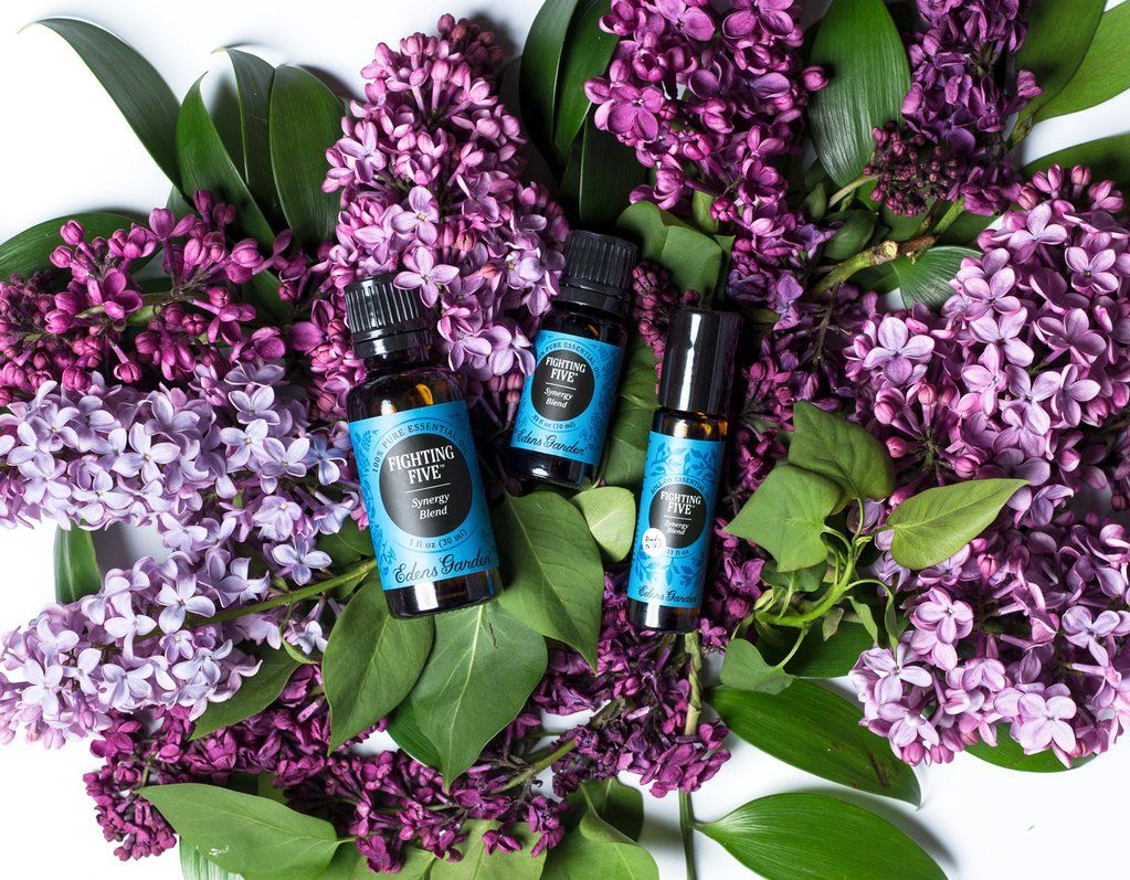 How To Use Fighting Five Synergy Blend Edens garden
