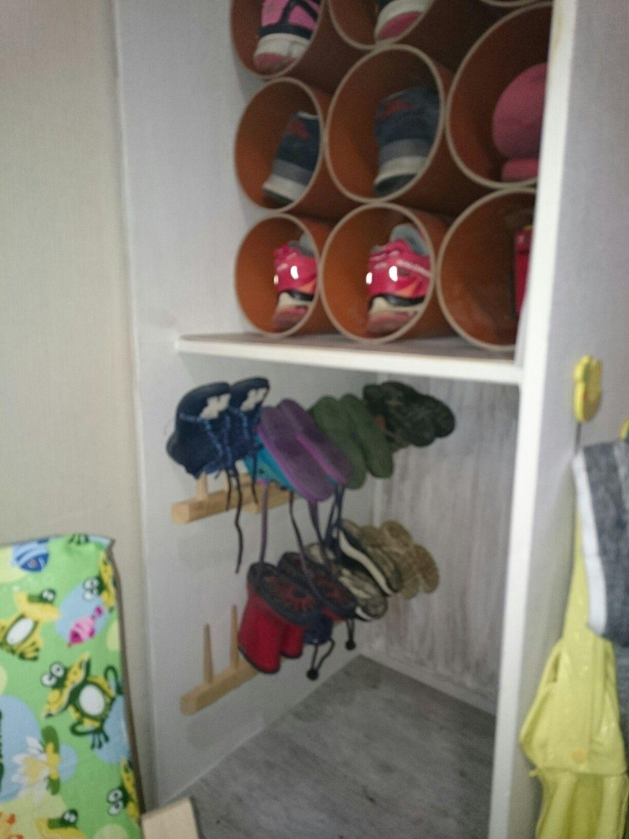 Kinderzimmer Garderobe | Schuhschrank Fur Kleine Kinderschuhe Kinder Garderobe Aus Einem