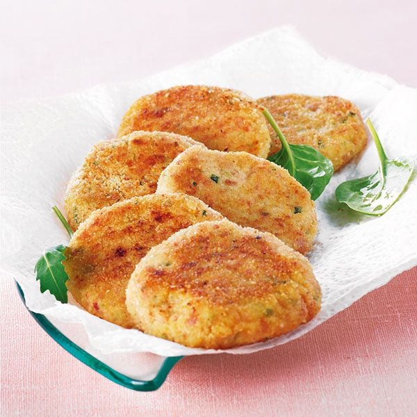 WeightWatchers.fr  recette Weight Watchers , Croquette de jambon aux  herbes Plus