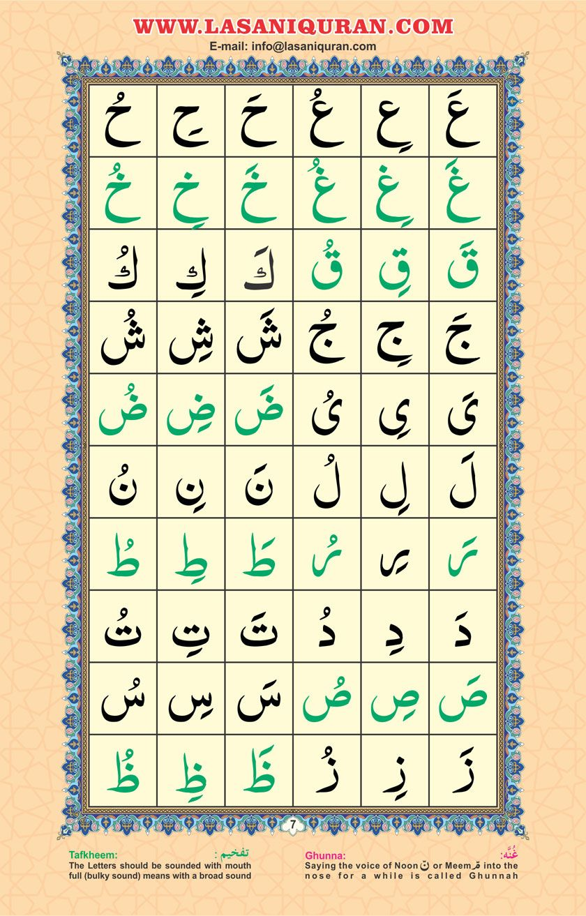 gallery1 in 2020 Quran, Learning arabic, Letter sounds