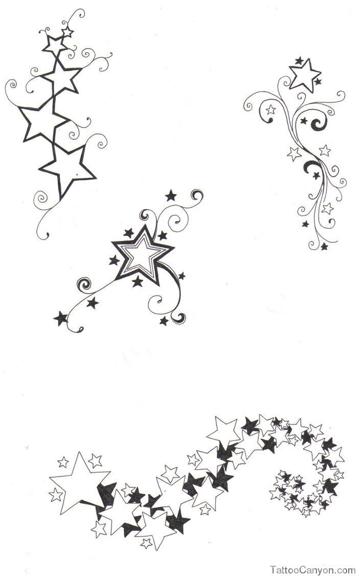 Free Download Star Designs By Crazyeyedbuffalo On Deviantart Design Picture 11994 Star Tattoo Designs Star Tattoos Star Foot Tattoos