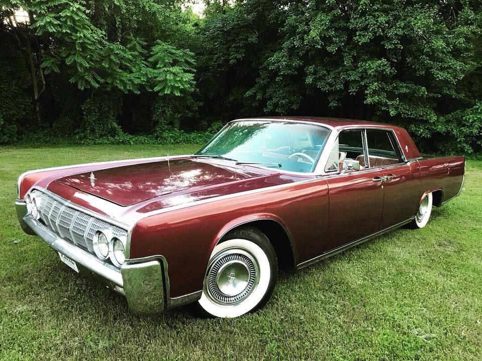 1964 Lincoln Continental Sedan Lincoln Continental Lincoln Cars Lincoln Motor Company