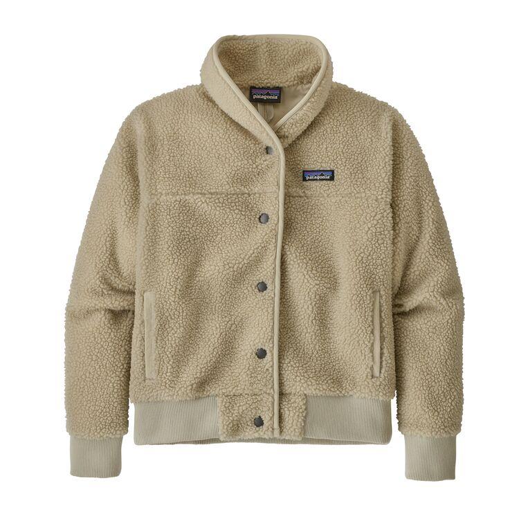W S Snap Front Retro X Jacket Pelican Plcn Fleece Jacket Pullover Jacket Patagonia Womens
