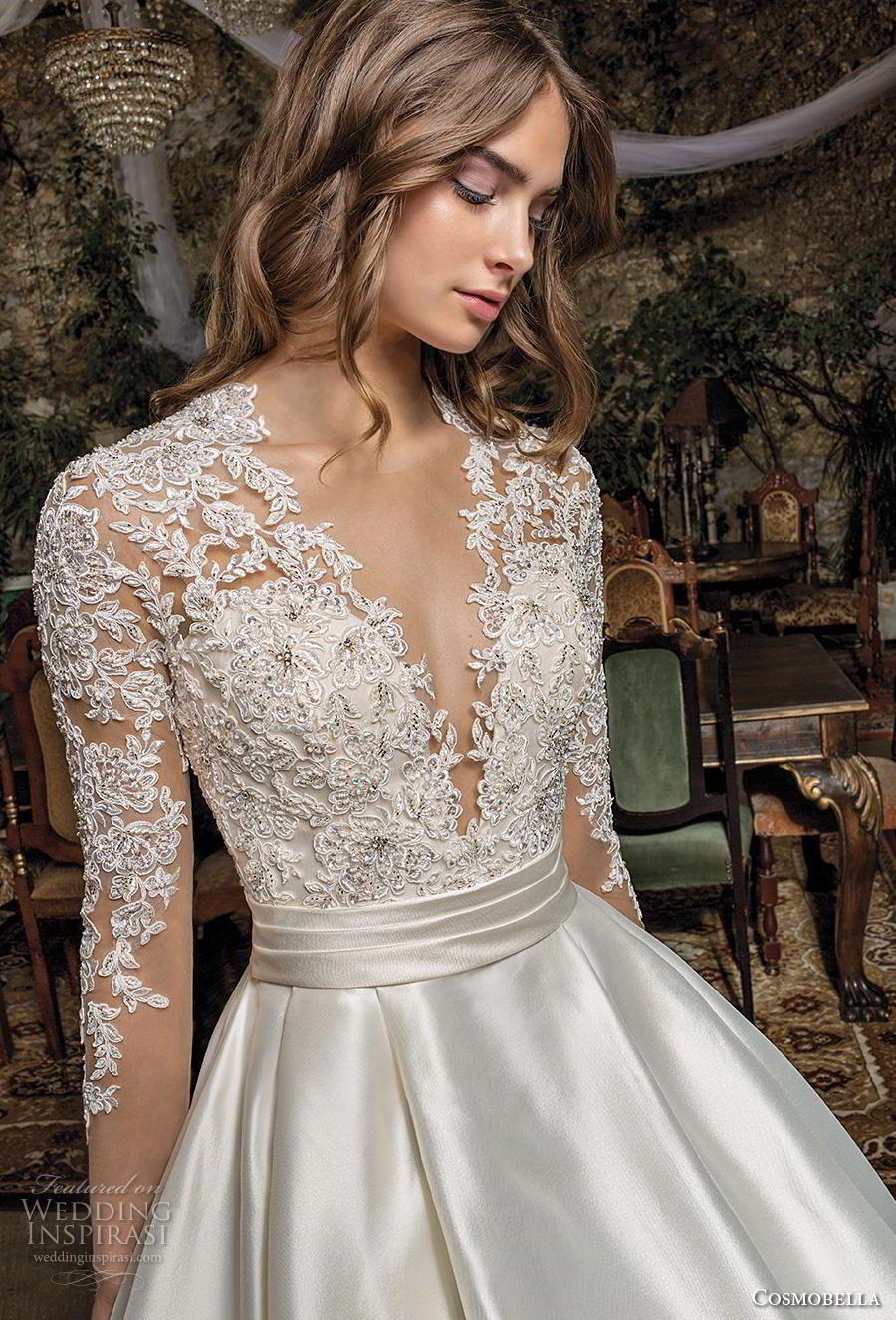Cosmobella 2019 Wedding Dresses Wedding Inspirasi Wedding Dress Styles Bridal Dresses Long Wedding Dresses [ 1326 x 900 Pixel ]