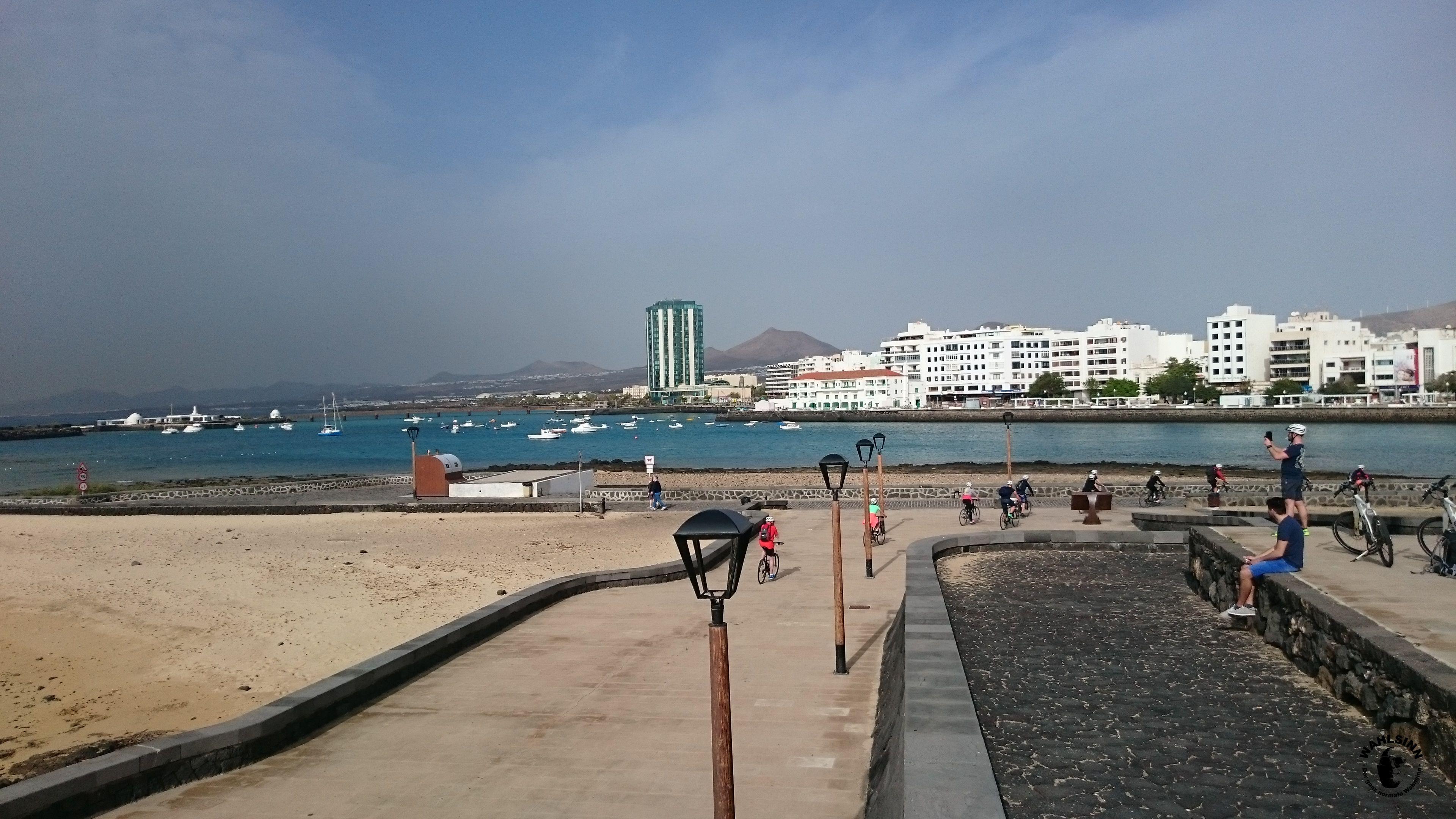 Lanzarote - Ausblick auf Arrecife