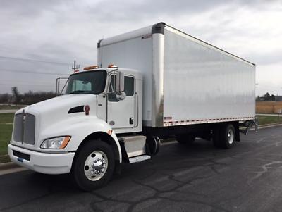 Ad Ebay Link 2019 Kenworth T270 26ft Box Truck In 2020 Kenworth Trucks Vehicle Shipping