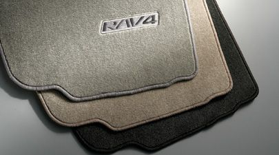 Genuine Toyota Rav4 Ash Carpet Floor Mat Set Pt208 42051