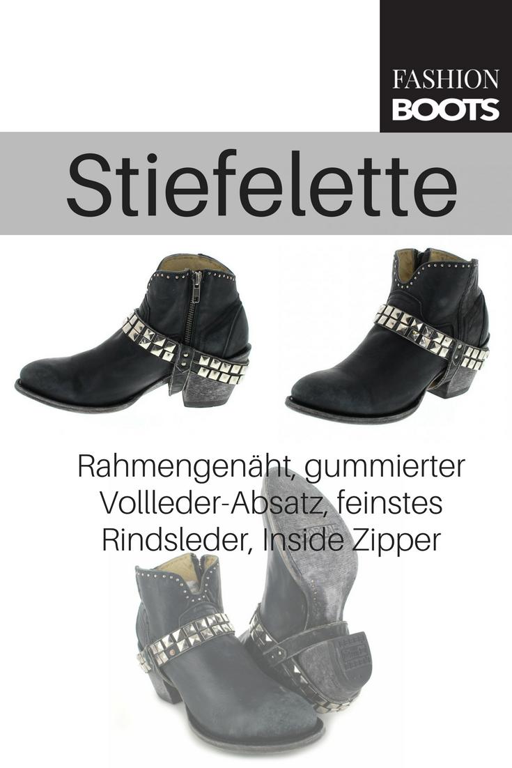 Corral Boots G1399 Black Fashion Stiefelette schwarz