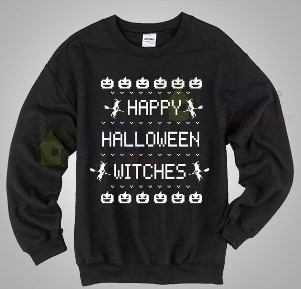 happy halloween witches says sweatshirt mpcteehouse