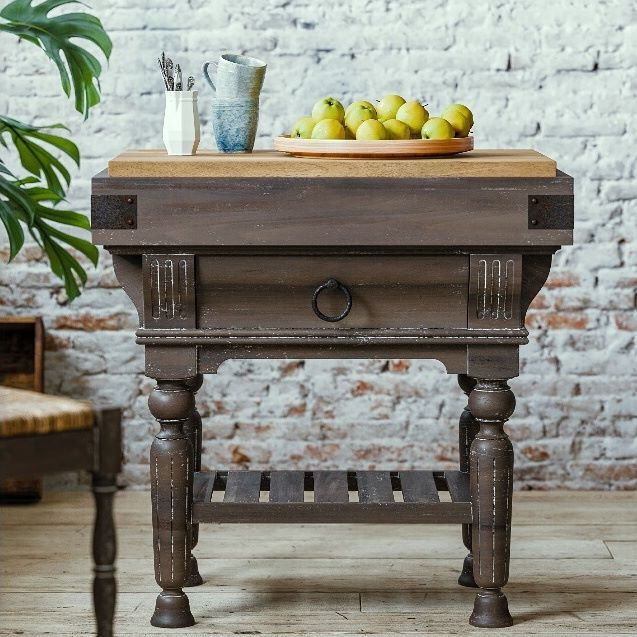 A perfect and dainty kitchen island for your home! # ...