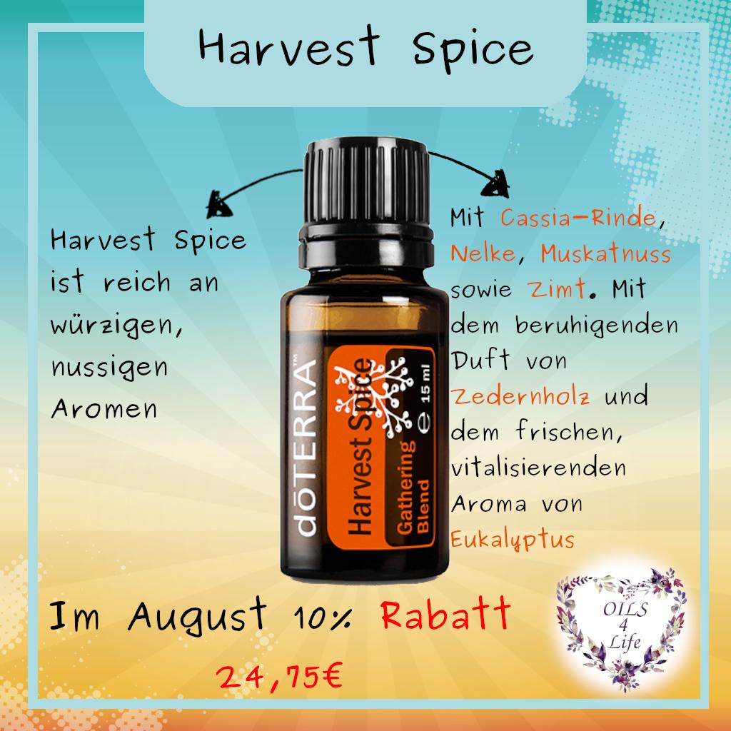 10 Rabatt Auf Harvest Spice In 2020 Doterra Specials Oils Photo And Video